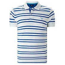Buy Gant Three Colour Contrast Polo Shirt Online at johnlewis.com