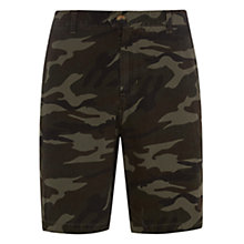 Buy HYMN Action Camouflage Print Shorts, Khaki Online at johnlewis.com