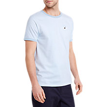 Buy HYMN Snorkel Logo Striped T-Shirt, White/Blue Online at johnlewis.com