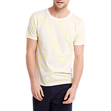 Buy HYMN Sunshine Print T-Shirt, Yellow Online at johnlewis.com
