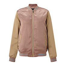Buy Miss Selfridge Day Dreamer Bomber Jacket, Multi Online at johnlewis.com