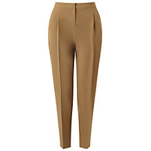 Buy Miss Selfridge Peg Leg Trousers, Camel Online at johnlewis.com