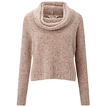 Buy Miss Selfridge Boucle Jumper, Pink Online at johnlewis.com