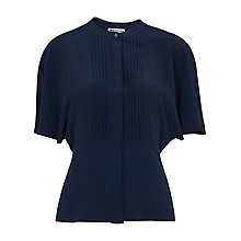Buy Whistles Esme Silk Pintuck Blouse Online at johnlewis.com