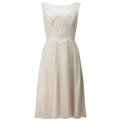 Phase Eight Bridal Clarissa Wedding Dress, Ivory/Bridal Blush