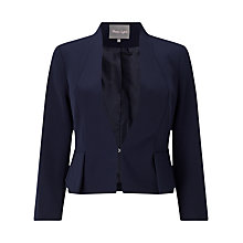 Buy Phase Eight Davina Jacket, Navy Online at johnlewis.com