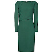 Buy Reiss Simone Dress, Pine Green Online at johnlewis.com