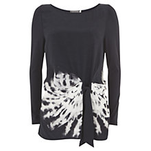 Buy Mint Velvet Carina Print Drape Top, Multi Online at johnlewis.com
