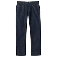Buy Jigsaw Japanese Selvedge Denim Straight Jeans, Indigo Online at johnlewis.com