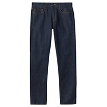 Buy Jigsaw Japanese Selvedge Denim Slim Jeans, Indigo Online at johnlewis.com