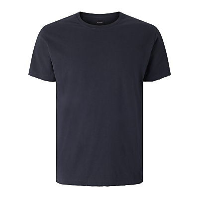 Diesel T-Rivers Plain Cotton T-Shirt