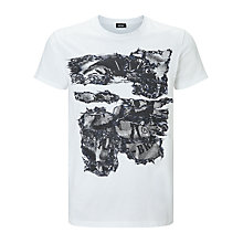 Buy Diesel T-Joe-NC T-Shirt, Bright White Online at johnlewis.com