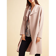 Buy Modern Rarity Wool Coatigan, Rose Online at johnlewis.com