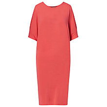 Buy Lauren Ralph Lauren Cold Shoulder Jersey Dress, Summer  Peach Online at johnlewis.com