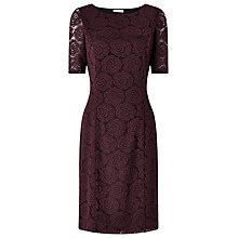Buy Precis Petite Cassie Lace Shift Dress, Red Online at johnlewis.com