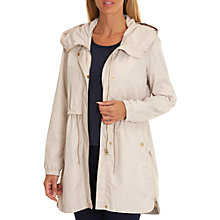Buy Betty Barclay Hooded Parka Coat, Silky Beige Online at johnlewis.com