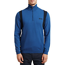 Buy BOSS Green Pro Golf Zelchior Functional Half-Zip Jumper Online at johnlewis.com