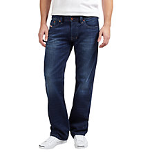 Buy Diesel Larkee Straight Jeans, Dark Wash 0860M Online at johnlewis.com