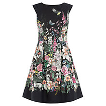 Buy Oasis Perry Print Dress, Multi Online at johnlewis.com