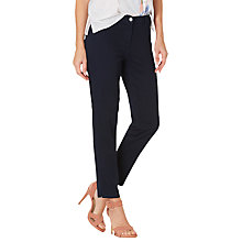 Buy Betty Barclay Cropped Five Pocket Jeans, Dark Sky Online at johnlewis.com