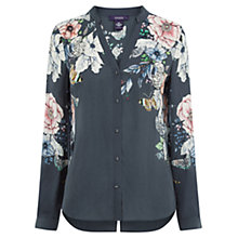 Buy Oasis Enchanted Forest Shirt, Multi/Grey Online at johnlewis.com