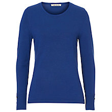 Buy Betty Barclay Fine Knit Jumper, Shiny Blue Online at johnlewis.com