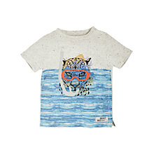Buy Angel & Rocket Boys' Graphic Print T-Shirt, Navy/Grey Online at johnlewis.com