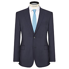 Buy J. Lindeberg Comfort Stretch Wool Slim Suit Jacket, Navy Online at johnlewis.com