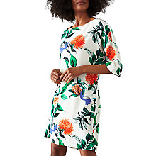 Buy Minimum Josefine Dress, White Floral Online at johnlewis.com