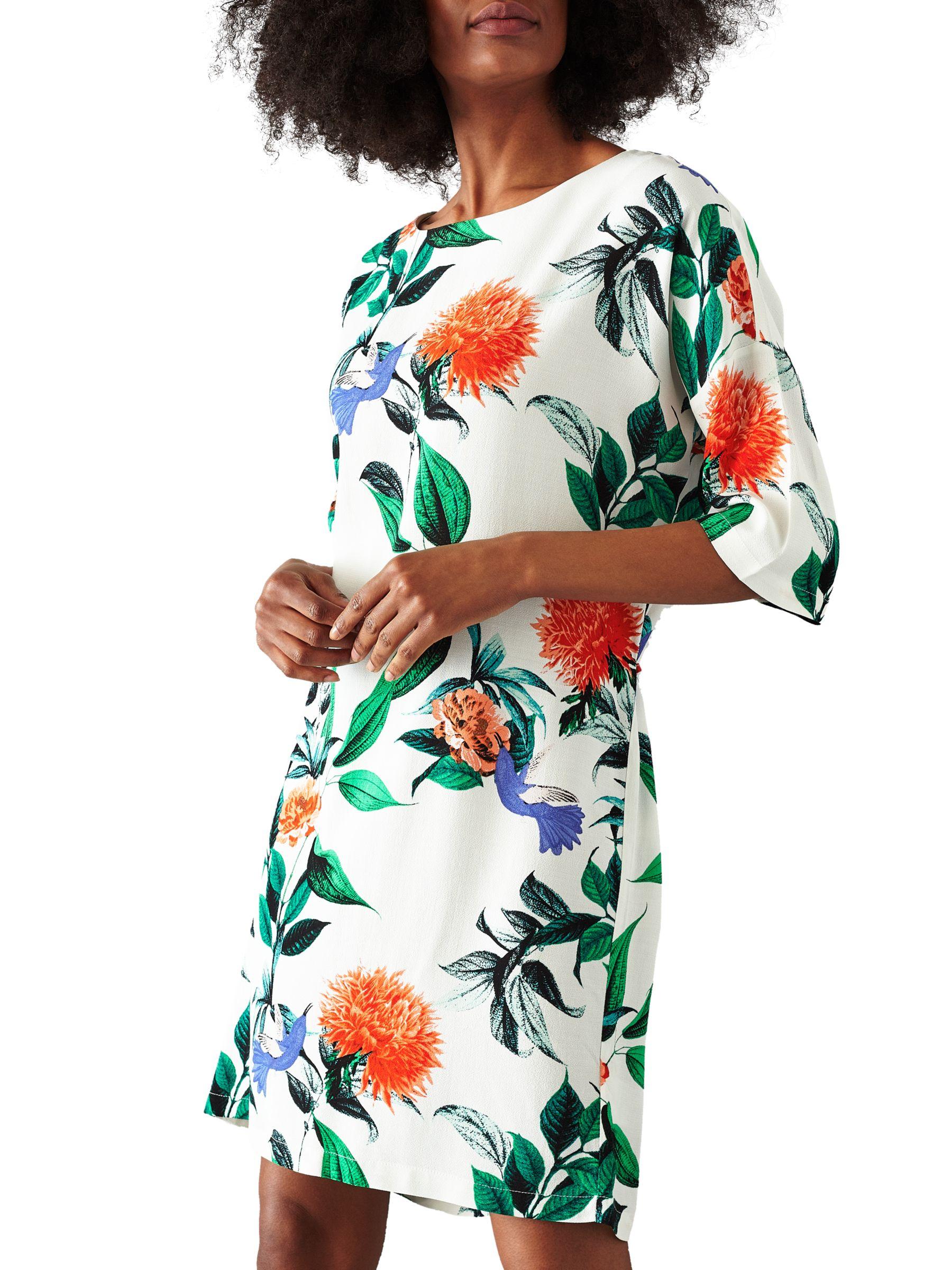 Minimum Minimum Josefine Dress, White Floral