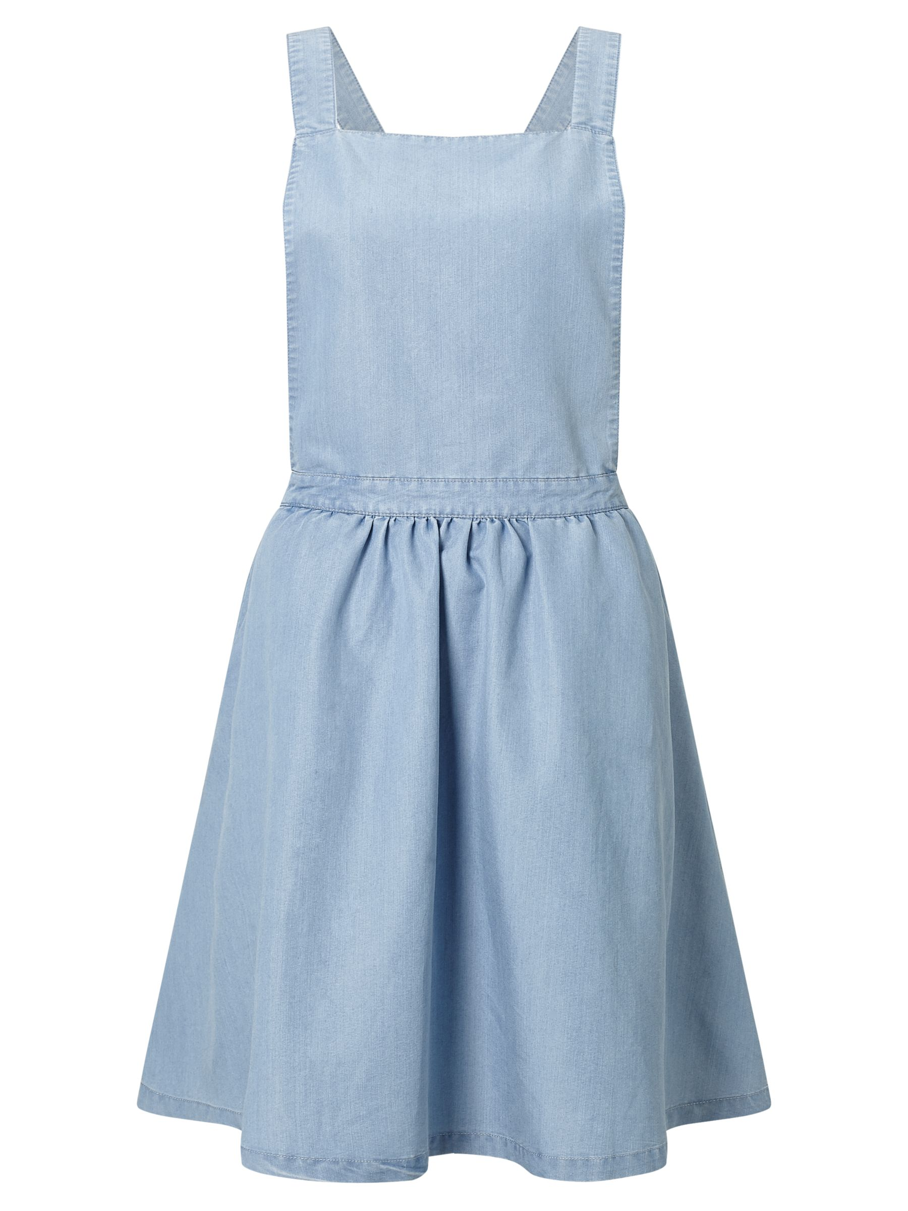 Minimum Minimum Inger Apron Dress, Light Blue