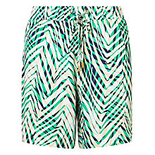 Buy Minimum Marjanne Shorts, Paris Green Online at johnlewis.com