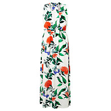 Buy Minimum Lailah Maxi Dress, White Floral Online at johnlewis.com