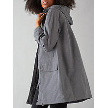 Buy Barbour Heritage Bedale Hooded, Grey Marl Online at johnlewis.com