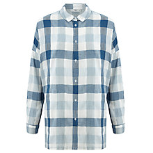 Buy Minimum Mounia Check Shirt, Twilight Blue Online at johnlewis.com