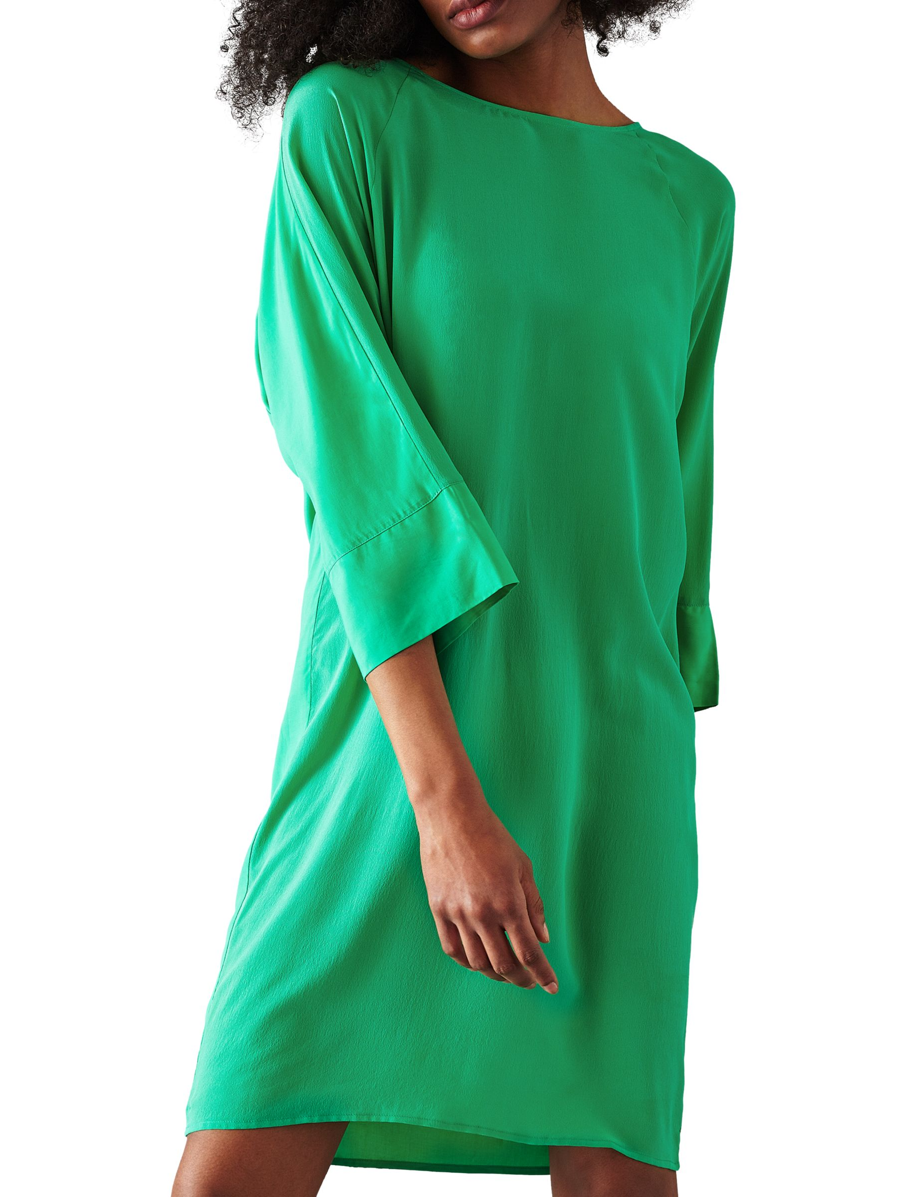 Minimum Minimum Misha Silk Blend Dress, Paris Green