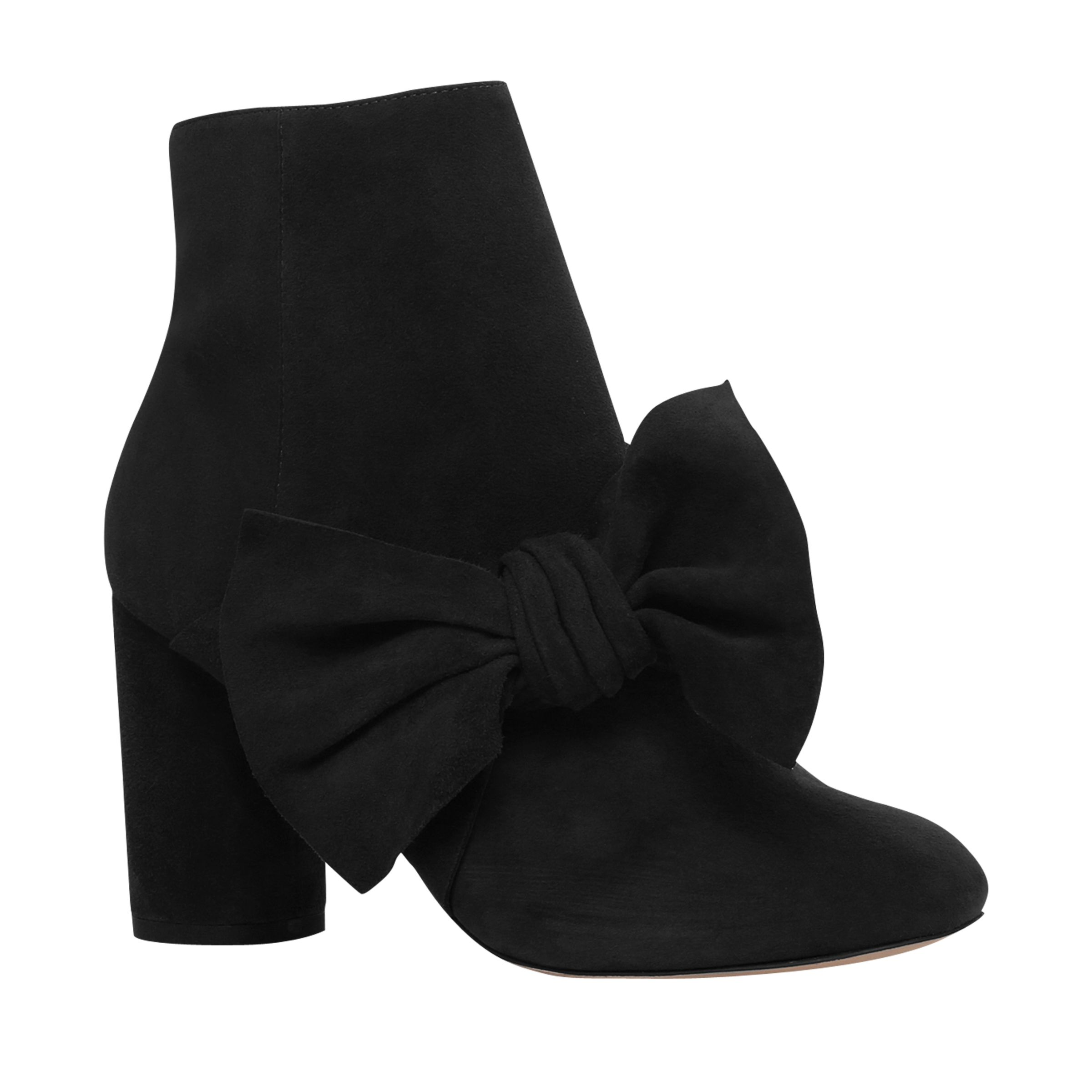 KG by Kurt Geiger KG by Kurt Geiger Rattle Bow Ankle Boots, Black