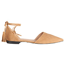 Buy Whistles Arden Two Part Tassel Pumps Online at johnlewis.com