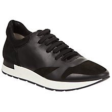 Buy Modern Rarity Mursia Foil Trainers, Black Online at johnlewis.com