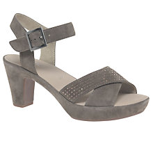 Buy Gabor Ransom Block Heeled Sandals, Fango Online at johnlewis.com