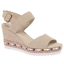 Buy Gabor Wicket Wedge Heeled Sandals Online at johnlewis.com