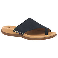 Buy Gabor Lanzarote Slip On Sandals, Navy Online at johnlewis.com