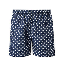 Buy Gant Star Swim Shorts, Blue Online at johnlewis.com