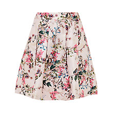 Buy Ted Baker Juliane Blossom Jacquard Full Skirt, Mid Pink Online at johnlewis.com