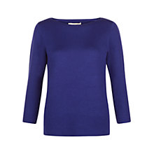 Buy Hobbs Cesci Jumper, Cobalt Online at johnlewis.com