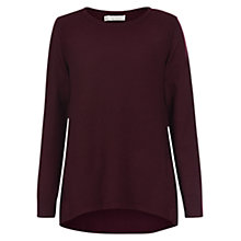 Buy Hobbs Elissa Jumper, Burgundy Online at johnlewis.com