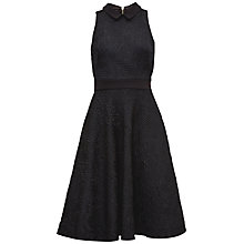 Buy Ted Baker Dariela Midi Dress, Black Online at johnlewis.com
