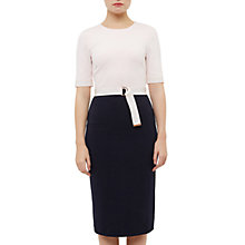 Buy Ted Baker Wandee Dress, Dark Blue Online at johnlewis.com