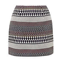 Buy Ted Baker Raych Metallic Jacquard Skirt, Multi Online at johnlewis.com