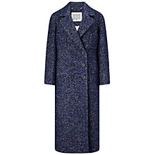 Buy Grace & Oliver Penelope Tweed Coat, Navy Online at johnlewis.com